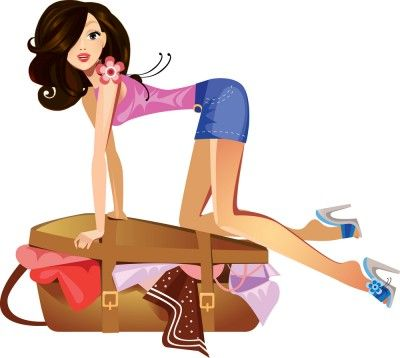 10 things every woman thinks packing a suitcase