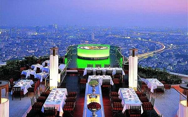 The most beautiful rooftop bars in the world, SkyBar Bangkok-2