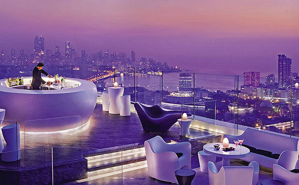 The most beautiful rooftop bars in the world, mumbai's four seasons hotel