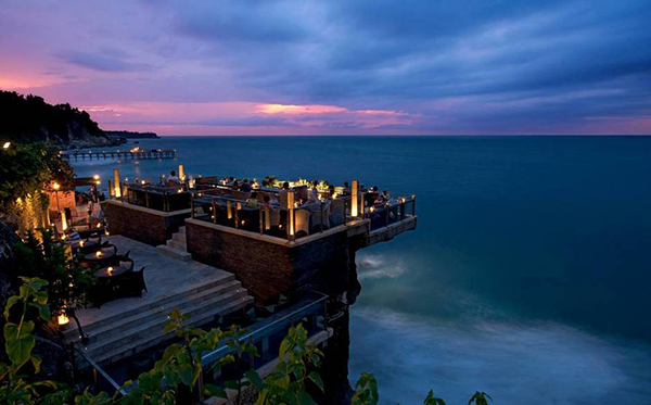 The most beautiful rooftop bars in the world, rockbar bali