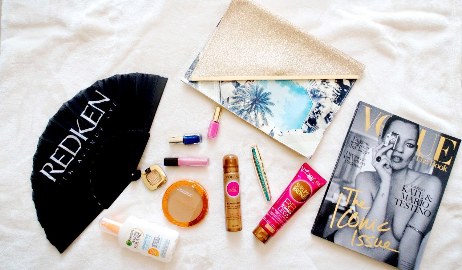 Beach day: 'I'm going to the beach and taking with me…'
