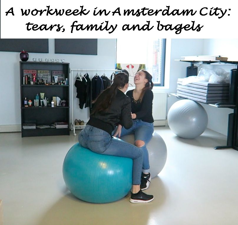 A workweek in Amsterdam City- tears, family and bagels
