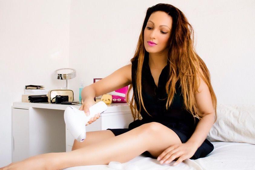 Zomer tip voor gladde benen met Philips Lumea, Anna-Radha Ghiraw, Radha Ghiraw, Online influencer, Dutch online influencer,