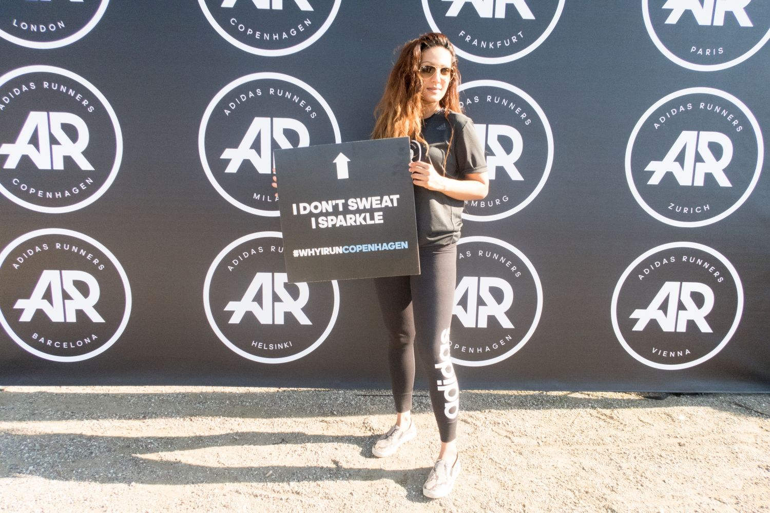 the Adidas Runners Race experience with my friend and influencer Francien Regelink in Copenhagen.