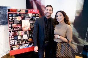 Pupa Milano make-up event with Giorgio Forgani, Anna-Radha Ghiraw, Radha Ghiraw