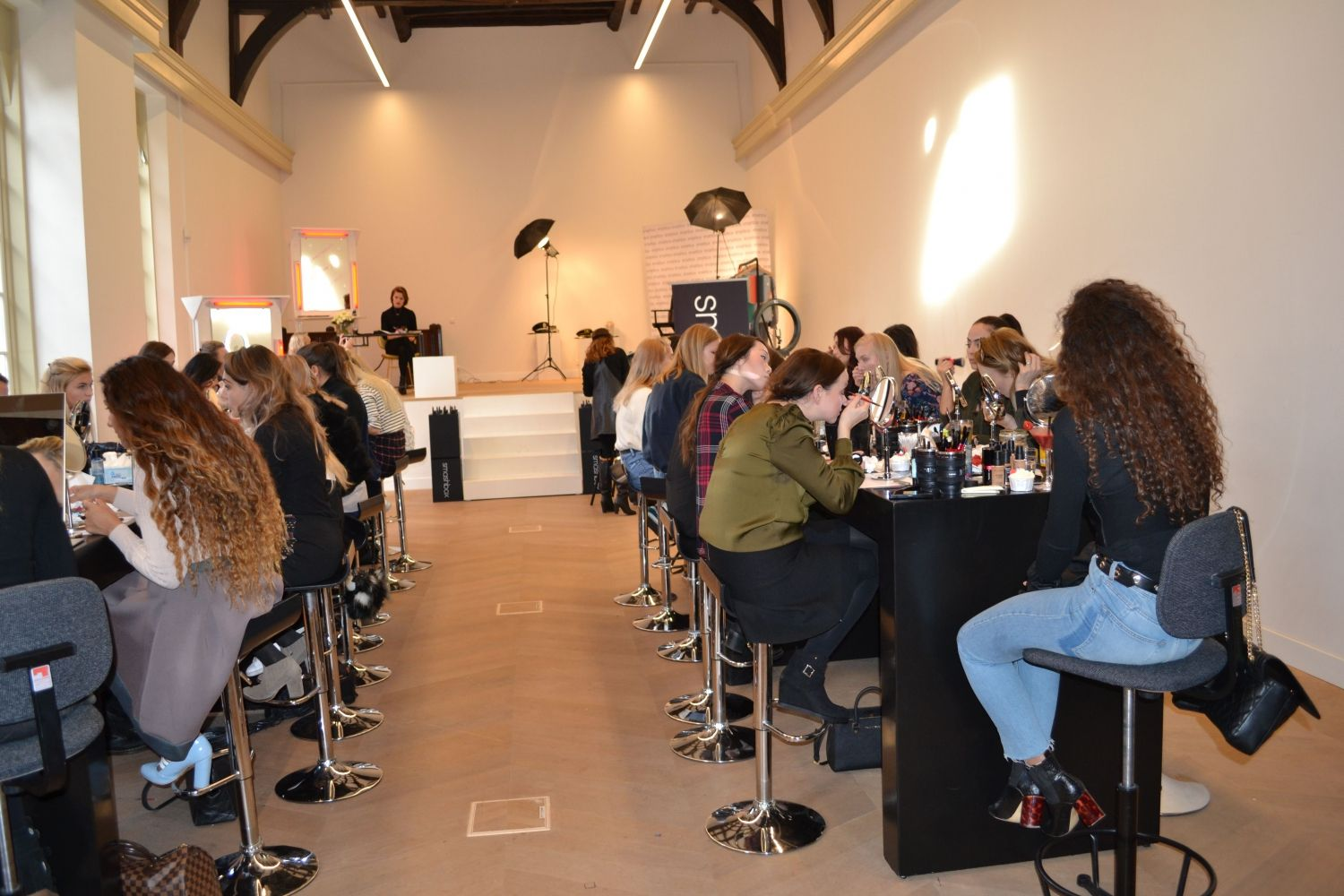 Smashbox influencers makeup event Benelux