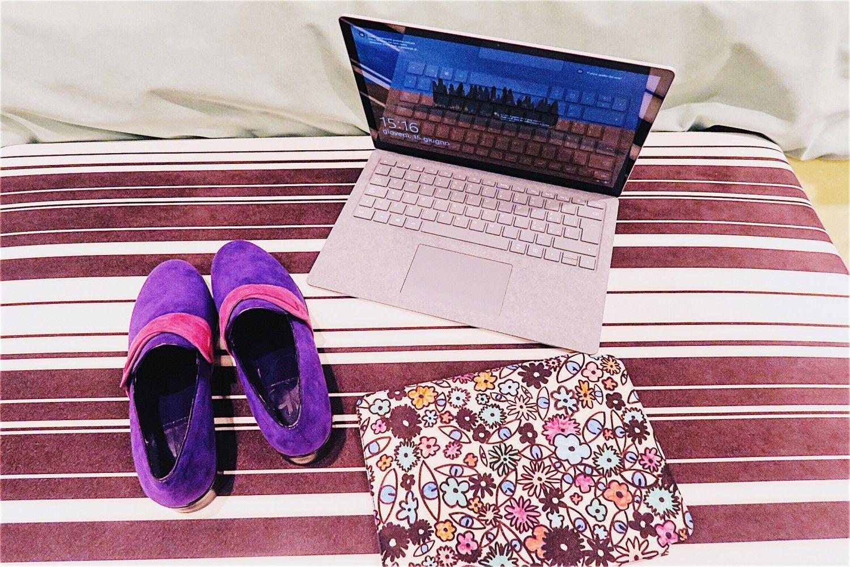 Mijn nieuwe luxe fashion accessoire: Microsoft Surface laptop
